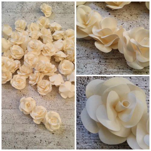 Venere- fiore in carta-