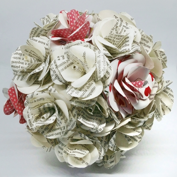Bouquet Sposa Carta.Bouquet Lacasaditania